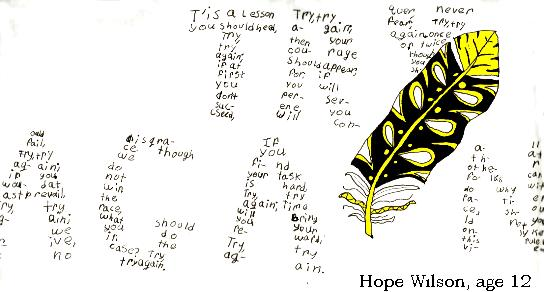 Calligraphy by Hope, 2017